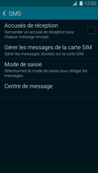Samsung G900F Galaxy S5 - SMS - Configuration manuelle - Étape 7