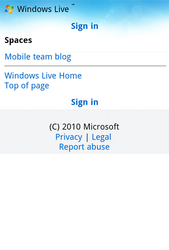 Nokia Lumia 900 - Internet - Popular sites - Step 12