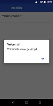 ZTE Blade V9 - Voicemail - Handmatig instellen - Stap 11