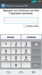 LG G2 - Sécuriser votre mobile - Activer le code de verrouillage - Étape 9