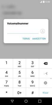 LG G6 (LG-H870) - Voicemail - Handmatig instellen - Stap 8