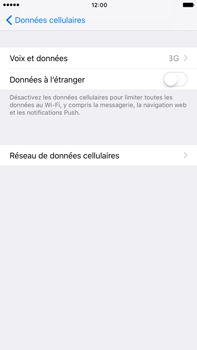 Apple Apple iPhone 6 Plus iOS 10 - Réseau - Changer mode réseau - Étape 5