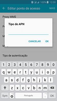 Samsung Galaxy J7 - Internet (APN) - Como configurar a internet do seu aparelho (APN Nextel) - Etapa 15