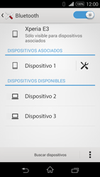 Sony D2203 Xperia E3 - Bluetooth - Conectar dispositivos a través de Bluetooth - Paso 8