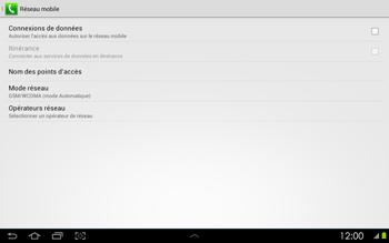 Samsung P5100 Galaxy Tab 2 10-1 - Réseau - utilisation à l'étranger - Étape 12