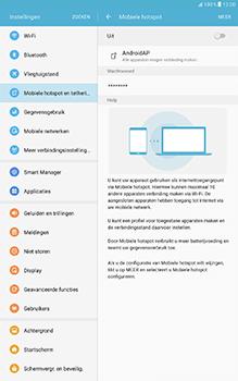 Samsung Galaxy Tab A 10.1 (SM-T585) - WiFi - Mobiele hotspot instellen - Stap 10
