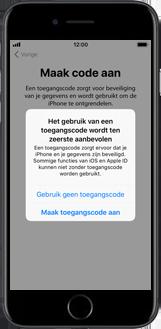 Apple iPhone 6s met iOS 11 (Model A1688) - Instellingen aanpassen - Activeer het toestel en herstel jouw iCloud-data - Stap 15