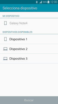 Samsung N910F Galaxy Note 4 - Bluetooth - Transferir archivos a través de Bluetooth - Paso 14