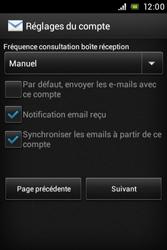 Sony C1505 Xperia E - E-mail - Configuration manuelle - Étape 16