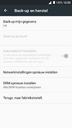 Alcatel Shine Lite - Device maintenance - Back up - Stap 7