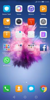 Huawei P Smart - Aplicações - Como configurar o WhatsApp -  4