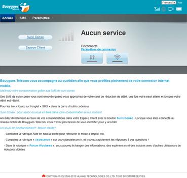 Alcatel MW40V - Contact, Appels, SMS/MMS - Envoyer un SMS - Étape 2