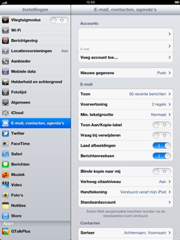 Apple iPad 4th generation - E-mail - e-mail instellen: POP3 - Stap 14