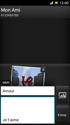 Sony ST26i Xperia J - MMS - envoi d'images - Étape 15