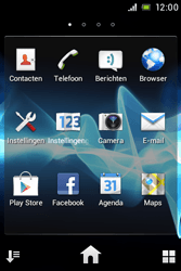 Sony ST23i Xperia Miro - Internet - handmatig instellen - Stap 19