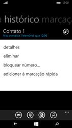 Microsoft Lumia 535 - Chamadas - Como bloquear chamadas de um número -  5