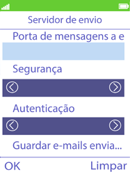 NOS Hakan - Email - Configurar a conta de Email -  29