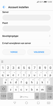Huawei P Smart (Model FIG-LX1) - E-mail - Account instellen (POP3 zonder SMTP-verificatie) - Stap 13