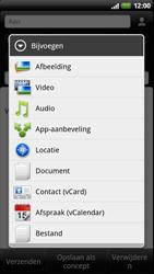 HTC Z715e Sensation XE - E-mail - e-mail versturen - Stap 8