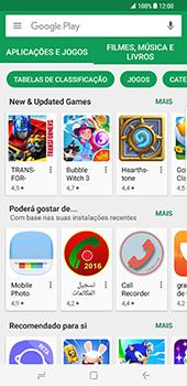 Samsung Galaxy S8 Plus - Aplicações - Como pesquisar e instalar aplicações -  6