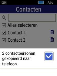 Samsung Xcover 550 (SM-B550H) - Contacten en data - Contacten kopiëren van SIM naar toestel - Stap 9