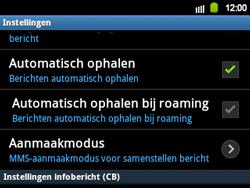 Samsung B5510 Galaxy TXT - MMS - probleem met ontvangen - Stap 4