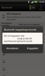 HTC T328e Desire X - Bluetooth - Headset, carkit verbinding - Stap 8