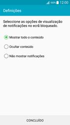 Samsung Galaxy A5 - Segurança - Como ativar o código de bloqueio do ecrã -  11