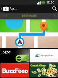 LG E400 - Aplicações - Como pesquisar e instalar aplicações -  5