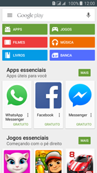 Samsung Galaxy J5 - Aplicativos - Como baixar aplicativos - Etapa 4