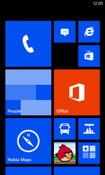 Nokia Lumia 620 - Voicemail - Manual configuration - Step 1