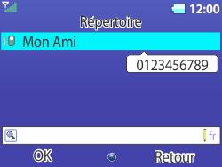 Bouygues Telecom Bc 311 - Contact, Appels, SMS/MMS - Envoyer un SMS - Étape 9