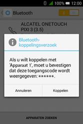 """Alcatel Pixi 3 - 3.5"""" - Bluetooth - koppelen met ander apparaat - Stap 9"""