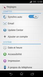Sony D2203 Xperia E3 - Réseau - Installation de mises à jour - Étape 5