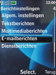 Nokia 6600 slide - E-mail - Handmatig instellen - Stap 6