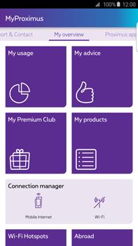 Samsung Galaxy S6 edge+ - Applications - MyProximus - Step 17