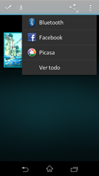 Sony Xperia L - Bluetooth - Transferir archivos a través de Bluetooth - Paso 8
