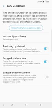 Samsung Galaxy S8 Plus - Android Oreo - Beveiliging en privacy - Zoek mijn mobiel activeren - Stap 6