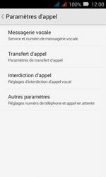Huawei Y3 - Messagerie vocale - Configuration manuelle - Étape 6