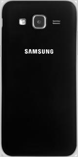 Samsung Galaxy J5 - Primeros pasos - Quitar y colocar la batería - Paso 2
