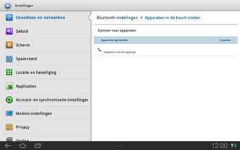 Samsung P7500 Galaxy Tab 10-1 - Bluetooth - koppelen met ander apparaat - Stap 8