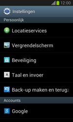 Samsung Galaxy Core (I8260) - Resetten - Fabrieksinstellingen terugzetten - Stap 4