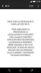 HTC Desire 610 - Internet et connexion - Accéder au réseau Wi-Fi - Étape 5