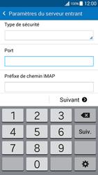 Samsung G530FZ Galaxy Grand Prime - E-mail - Configuration manuelle - Étape 11