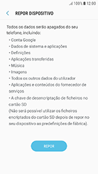 Samsung Galaxy A3 (2016) - Android Nougat - Repor definições - Repor definições de fábrica do telemóvel -  8