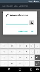 Sony Xperia XZ Premium - Voicemail - Handmatig instellen - Stap 8