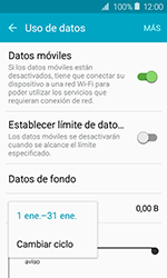 Samsung Galaxy J1 (2016) (J120) - Internet - Ver uso de datos - Paso 6