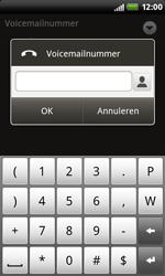 HTC S510b Rhyme - Voicemail - Handmatig instellen - Stap 7