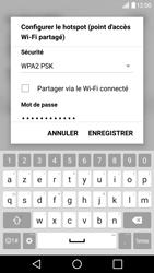 LG G5 - Internet et connexion - Partager votre connexion en Wi-Fi - Étape 7