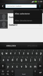 HTC One Mini - Contacten en data - Contacten kopiëren van toestel naar SIM - Stap 9